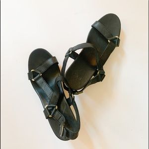 teva sandal wedges
